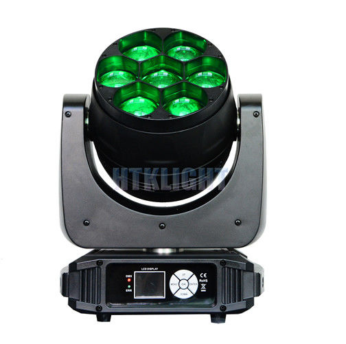 3 pin XLR Stage Moving Head Light With ABS Flame Retardant Plastic Housing