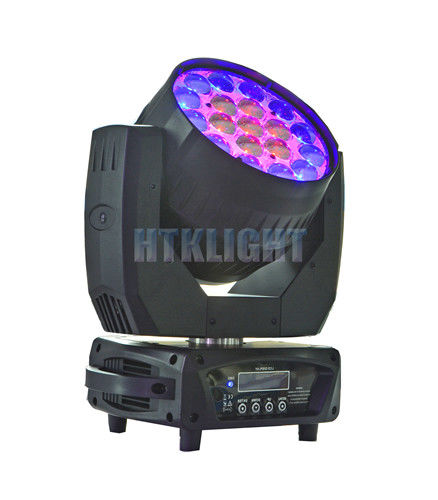 DMX Control Mode LED Wash Moving Head Linear Smooth Dimmer From 0 - 100%