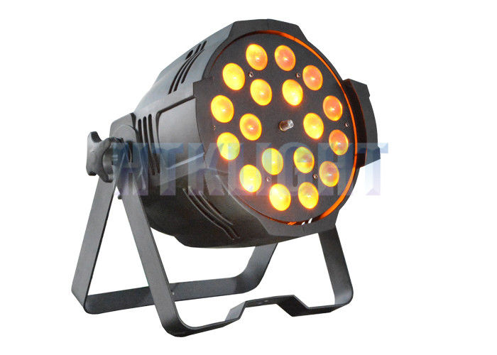 Ip20 Elation Arena Par Zoom Light 18x10W RGBW 4 In 1 For Stage , Events