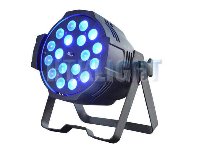 Tianxin Chip LED Stage Lighting For Churches 18x10W RGBW 4 In 1 Flicker - Free